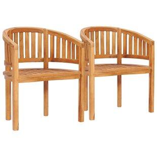 Oldow Garden Chair (Set Of 2) By Rosalind Wheeler