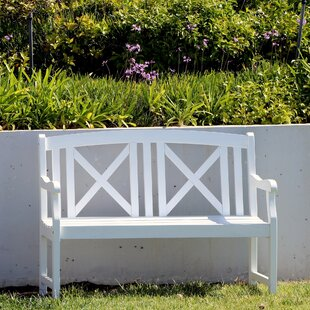 Mahler Outdoor Wooden Garden Bench
