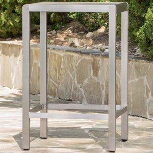 Durbin Outdoor Aluminum Bar Table by Wade Logan Modern