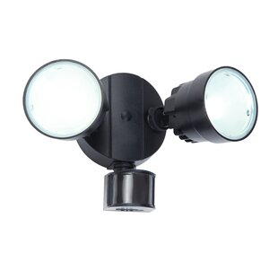 Great Price Kater 2-Light LED Outdoor Spotlight with Motion Sensor By Latitude Run