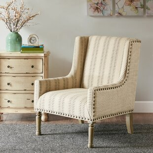 Find for Lambdin Wingback Chair by Bungalow Rose