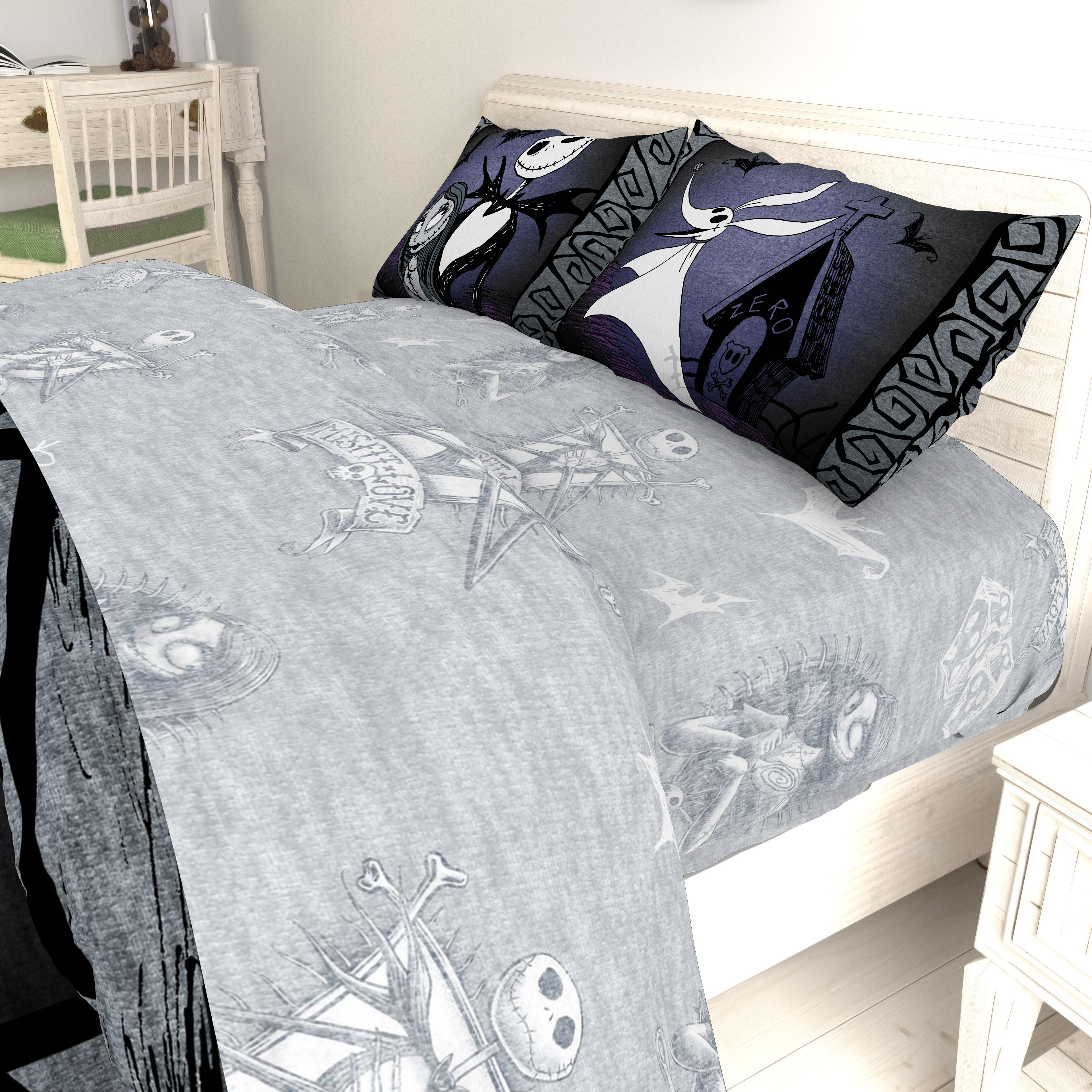 Disney Nightmare Before Christmas Meant To Be Sheet Set | Wayfair