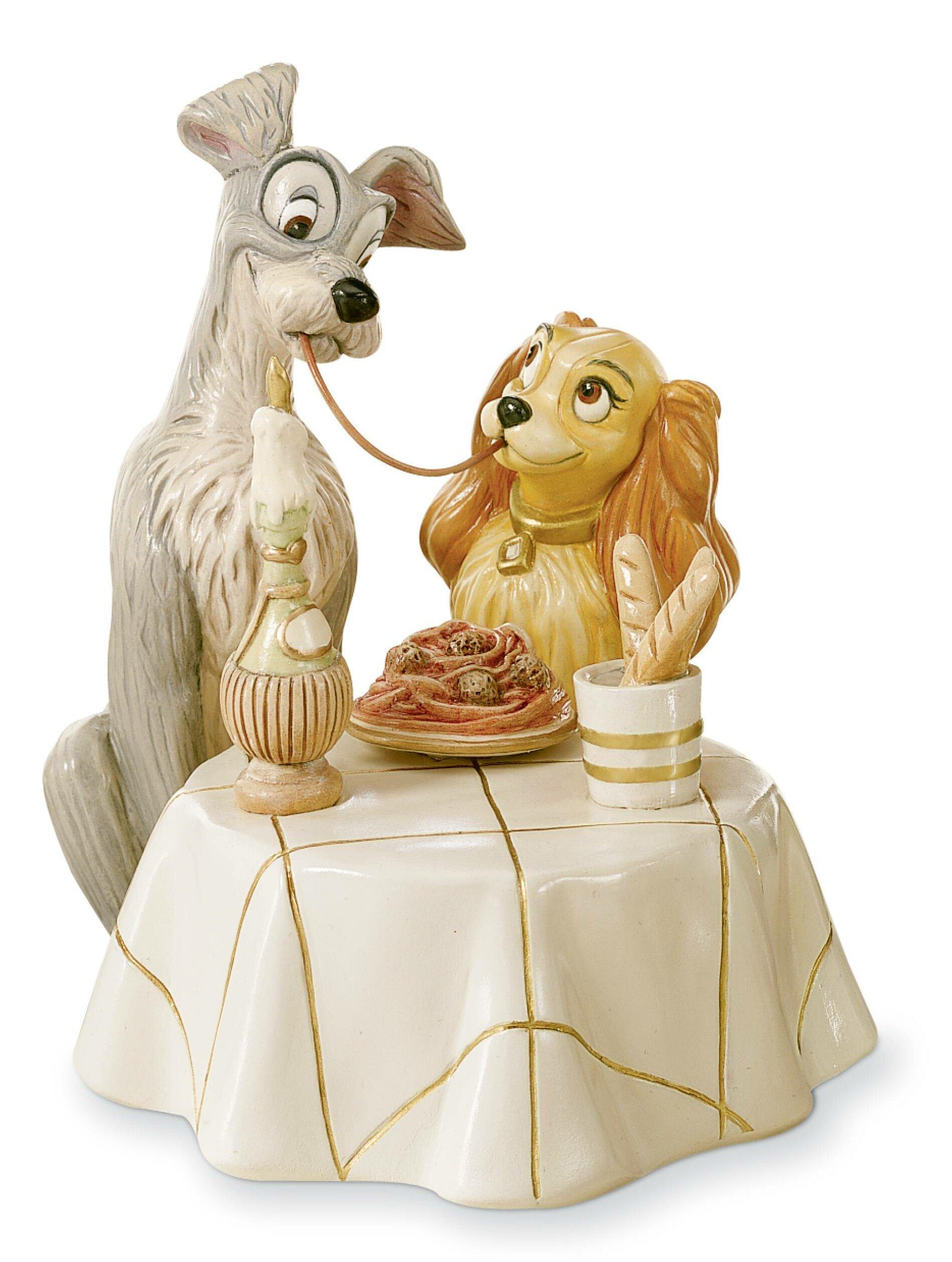 Lenox Disney S Lady And The Tramp Figurine Reviews Wayfair