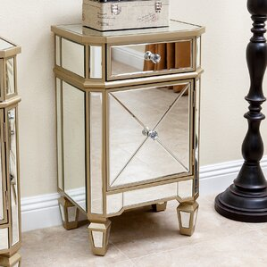 Marleigh Mirrored End Tabl..