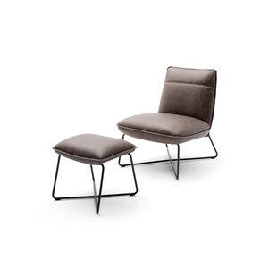 Rockefeller Lounge Chair And Footstool By Wade Logan