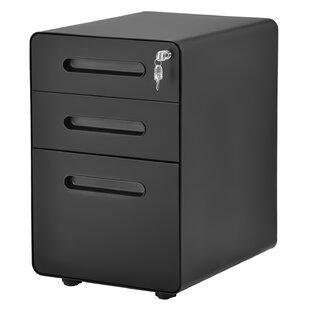 Jaynes 3 Drawer Filling Cabinet By Symple Stuff