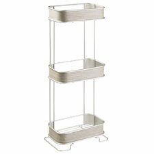 Realwood 3 Tier 6.4 W x 25.6 H Freestanding Shelving by InterDesign