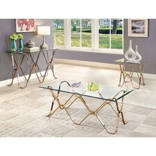 Arylide Coffee Table Set by House of Hampton