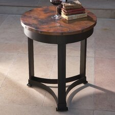 Classic Copper End Table by Global Views