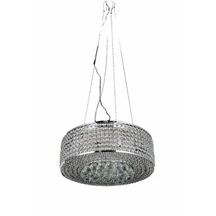 Huse 8-Light Crystal Chandelier by House ..
