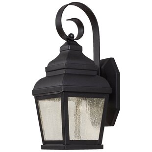 Read Reviews Dorchester Traditional 1-Light Outdoor Wall Lantern By Darby Home Co