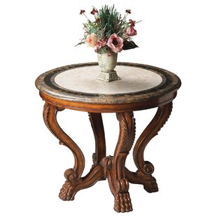 Hobson Foyer End Table by Astoria Grand