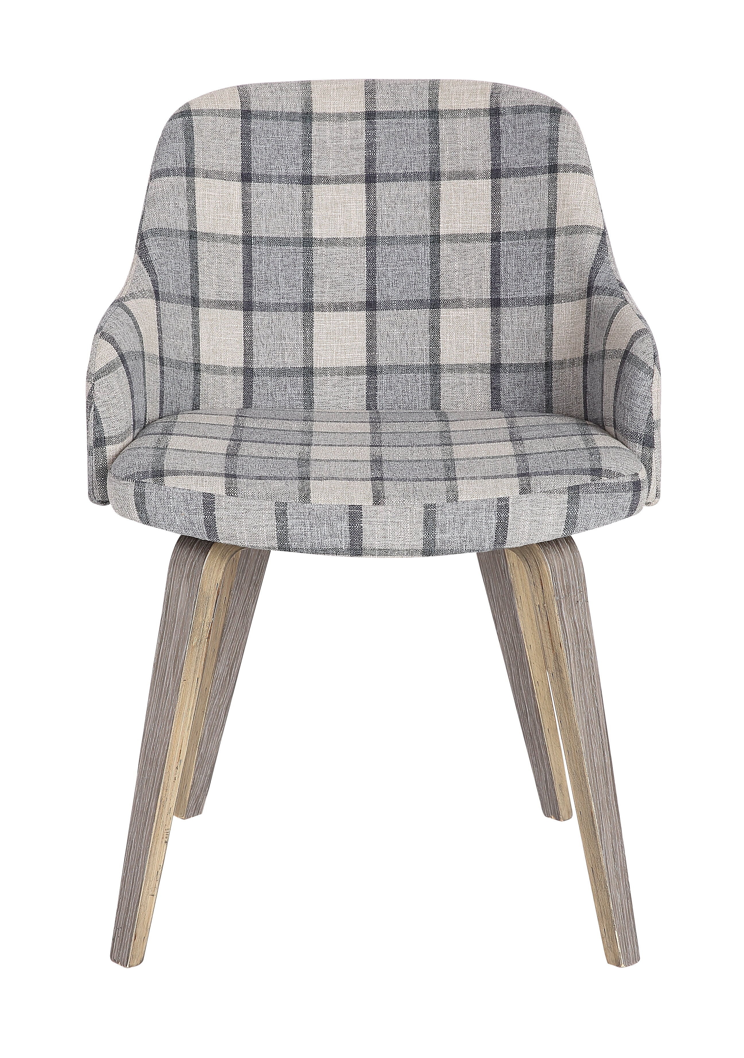 Union Rustic Shenna Mid Century Modern Upholstered Dining Chair