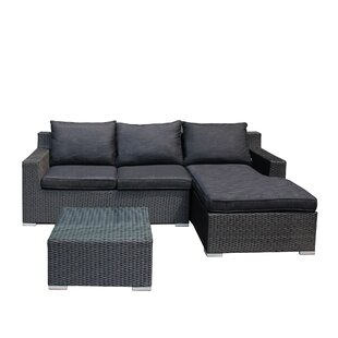 Teagan 3 Piece Sectional Set