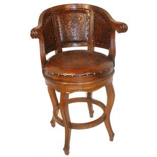 Phenomenal 30 Swivel Leather Bar Stool Set Of 4 Uwap Interior Chair Design Uwaporg
