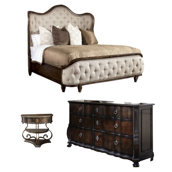 island chamfer canopy bed espresso bedroom sets youll love wayfair