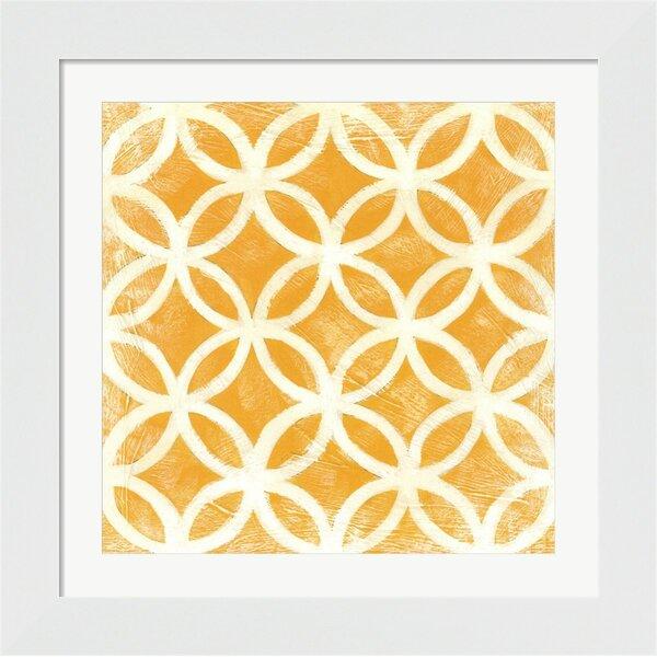 Evive Designs Small Modern Symmetry Vii By Chariklia Zarris Framed Graphic Art Wayfair