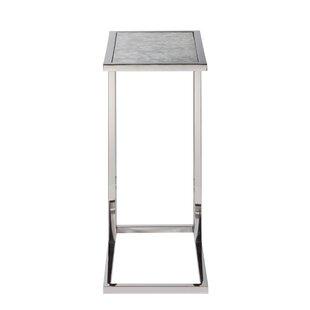 Jacquez Rectangular Glass End Table