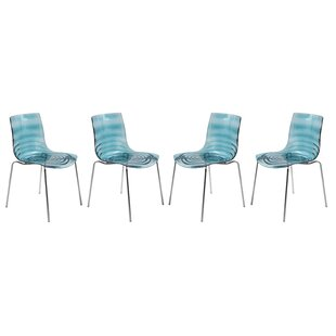 LeisureMod Astor Side Chair (Set of 4)