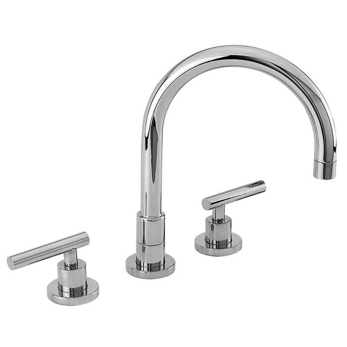East Linear Touch Double Handle Kitchen Faucet
