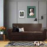 High Stretch Standard Box Cushion Sofa Slipcover by Mercer41