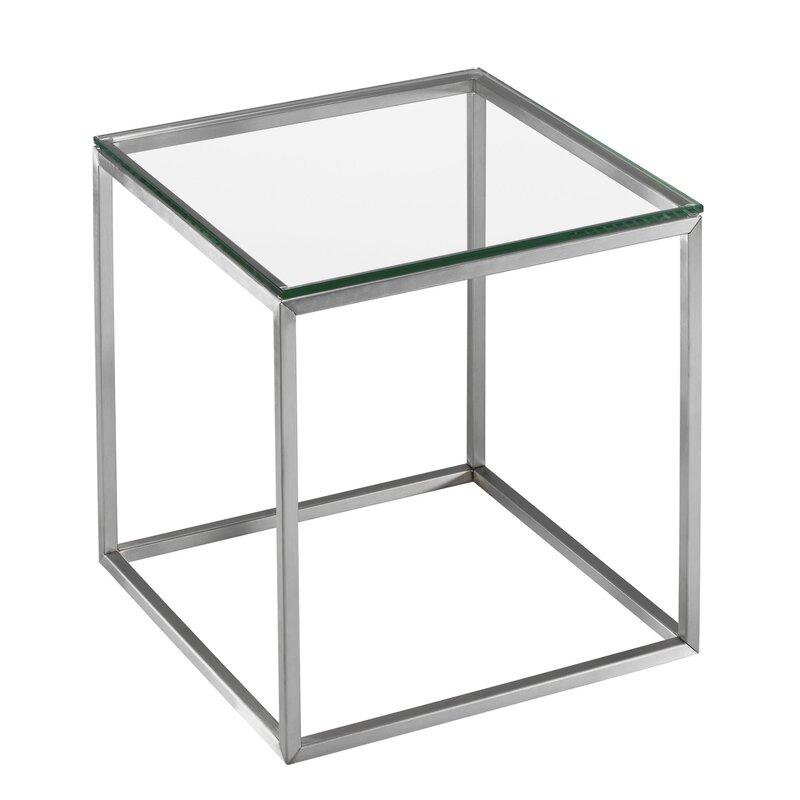 Orren ellis beistelltisch cube dean bewertungen for Beistelltisch cube