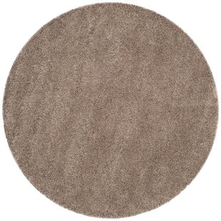 Dane Hand-Tufted Taupe Area Rug by Ebern Designs