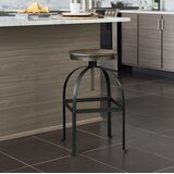 Mellor Adjustable Height Bar Stool by Williston Forge