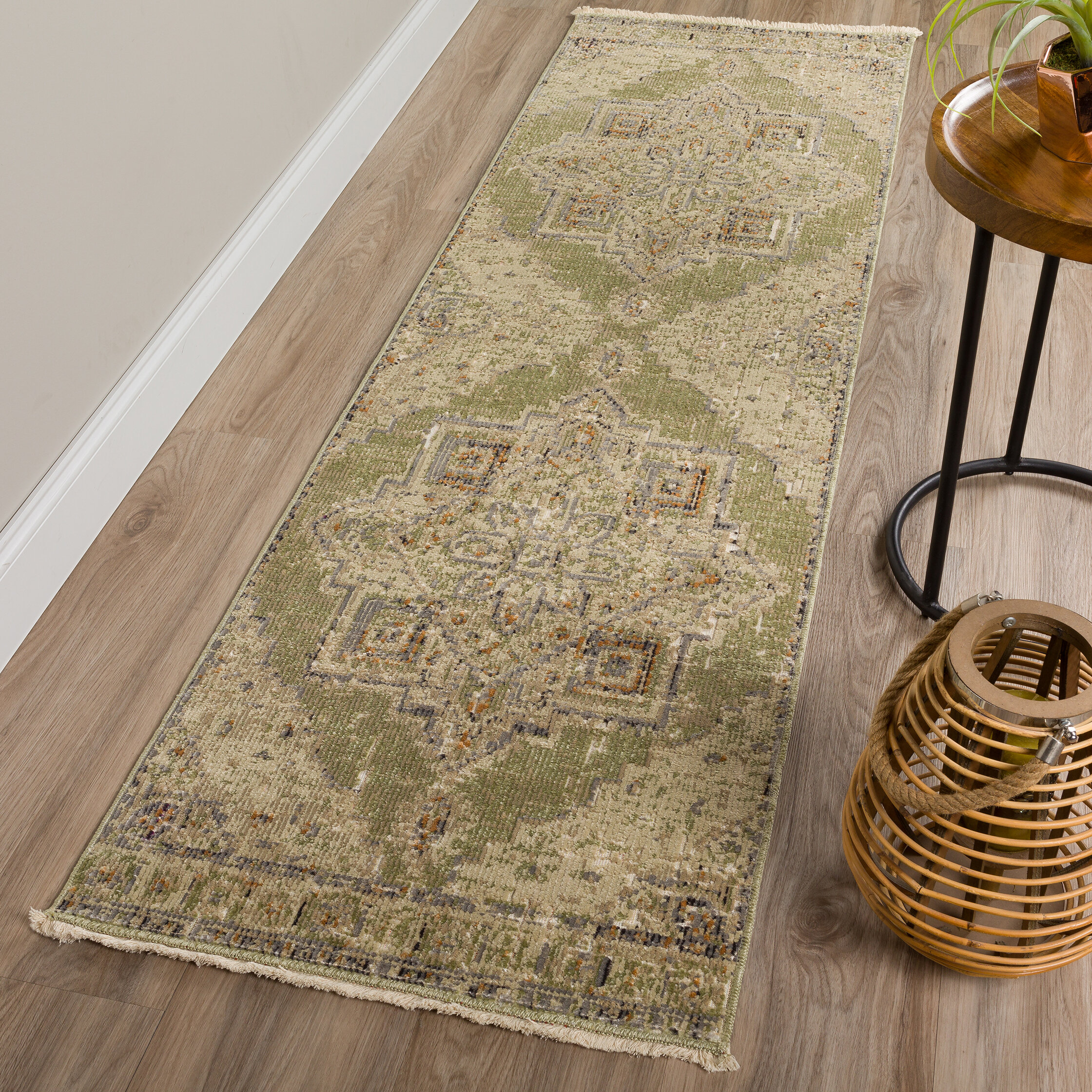 World Menagerie Prima Oriental Taupe Gray Area Rug Reviews Wayfair