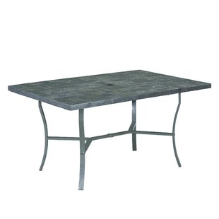 Stone Veneer Dining Table