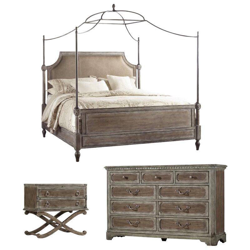 True Vintage Canopy Configurable Bedroom Set  sc 1 st  Wayfair & Hooker Furniture True Vintage Canopy Configurable Bedroom Set ...