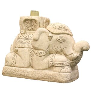 Raja Elephant Patio Umbrella Stand