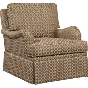 English Arm Swivel Glider By Fairfield Chair