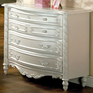 Victoria Dresser with Floral Motif by Hokku Designs