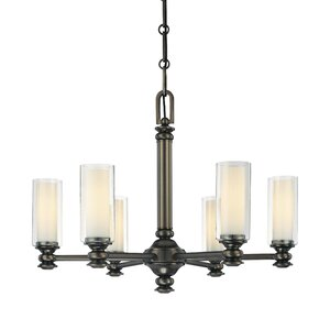 Anissa 6-Light Candle-Style Chandelier
