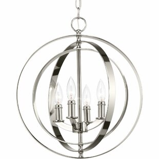 Faulk 4-Light Globe Chande..