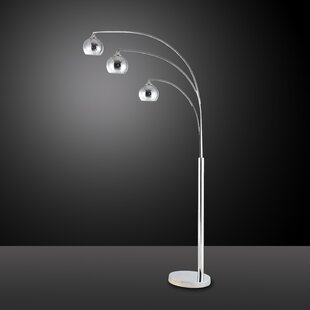 Best Carved Plating 76 LED Tree Floor Lamp By Container