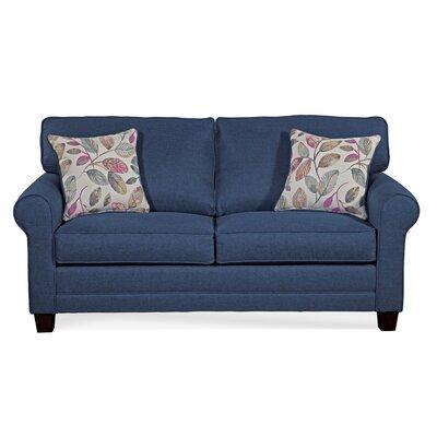 Raphael Sofa Bed Red Barrel Studio Upholstery Jitterbug Denim