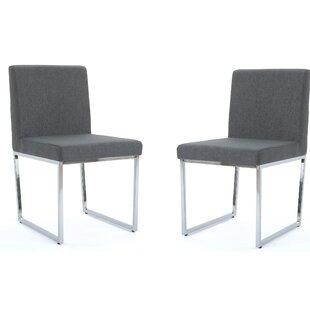 Orren Ellis Saniveieri Upholstered Dining Chair (Set of 2)