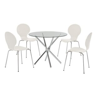 Bellingen Dining Set With 4 Chairs By 17 Stories