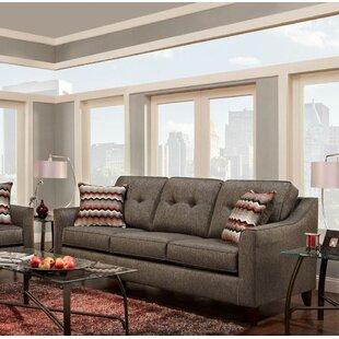 Wrought Studio Silverberg Tufted Sofa