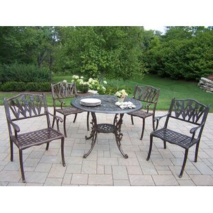 Oakland Living Mississippi Tulip Dining Set