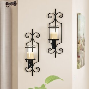Iron Sconce Set (Set of 2)