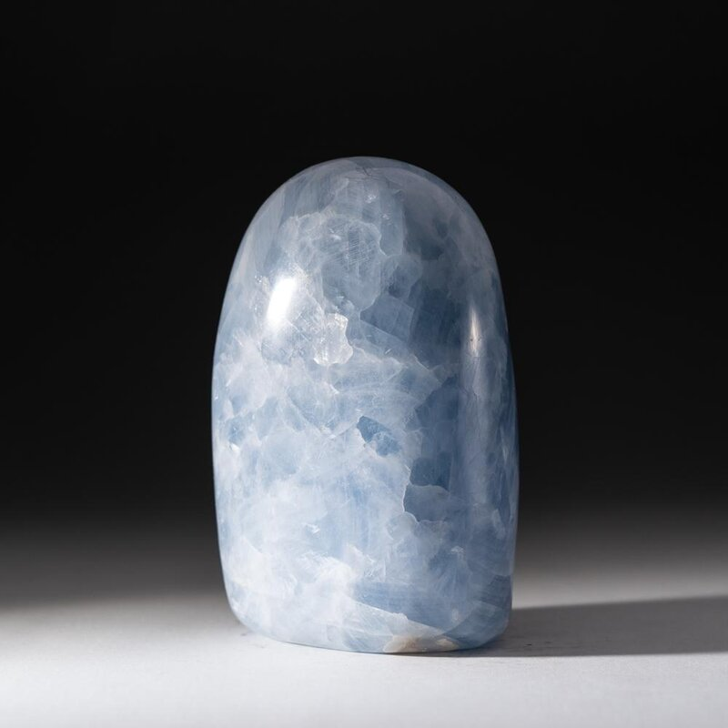 Astro Gallery Of Gems Blue Calcite Freeform From Mexico Wayfair