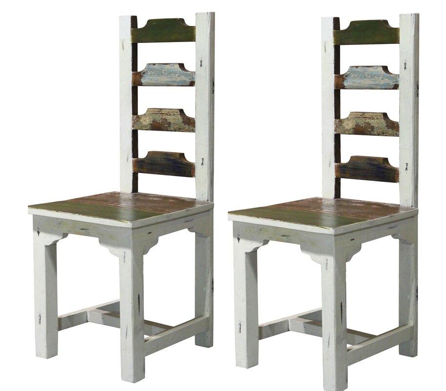 Home loft concept esszimmerstuhl set bond aus massivholz - Esszimmerstuhle massivholz ...