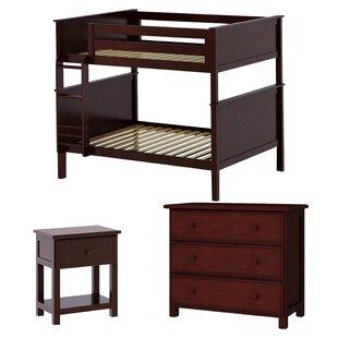 Ginny Standard Bunk Configurable Bedroom Set by Harriet Bee