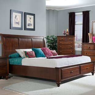 Darby Home Co Whitcomb Storage Sleigh Bed