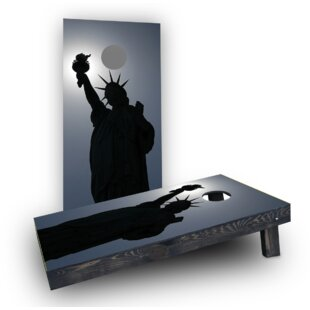 Custom Cornhole Boards Lady Liberty (Set of 2)
