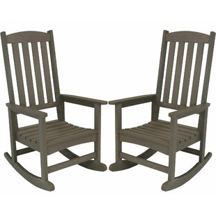 Salgado All-Weather Rocking Chair (Set of 2)