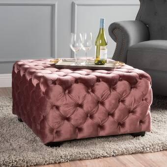 Marvelous Corrigan Studio Keats Tufted Cocktail Ottoman Reviews Evergreenethics Interior Chair Design Evergreenethicsorg